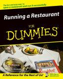 Running a Restaurant For Dummies [Pdf/ePub] eBook