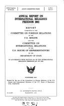 Annual Report  International Religious Freedom