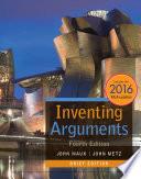 Inventing Arguments Brief Edition 2016 Mla Update