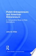 Polish Entrepreneurs and American Entrepreneurs