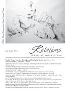 Relations  Beyond Anthropocentrism  Vol  4  No  1  2016   Past the Human  Narrative Ontologies and Ontological Stories  Part I