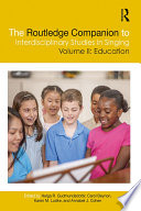 The Routledge Companion to Interdisciplinary Studies in Singing  Volume II  Education