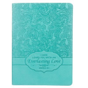 Journal Turquoise Luxleather Everlasting Love