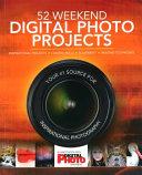 52 Weekend Digital Photo Projects