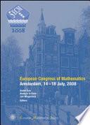 European Congress of Mathematics, Amsterdam, 14-18 July, 2008