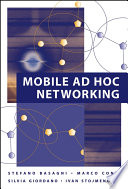 Mobile Ad Hoc Networking Book