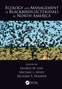 Ecology and Management of Blackbirds (Icteridae) in North America ebook