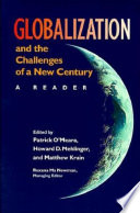 Globalization and the Challenges of a New Century Book