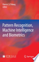Pattern Recognition  Machine Intelligence and Biometrics