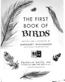 The First Book of Birds