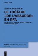 Pdf Le théâtre « de l'absurde » en RFA Telecharger