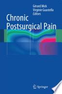 Chronic Postsurgical Pain