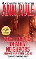 Pdf Fatal Friends, Deadly Neighbors Telecharger