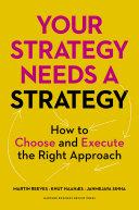 Your Strategy Needs a Strategy Pdf/ePub eBook