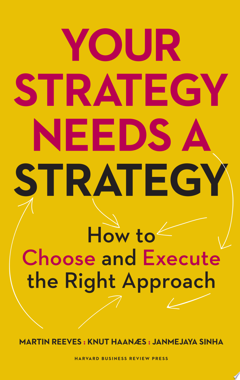 Your Strategy Needs a Strategy image