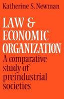 Law and Economic Organization