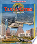 Texas Cities  Then and Now Book PDF