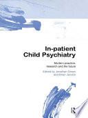 In patient Child Psychiatry Book