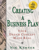 Creating a Business Plan  Your Dream Concept Made Real
