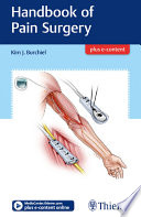Handbook of Pain Surgery Book