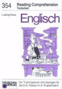 Englisch. Reading comprehension