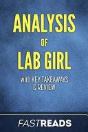 Analysis of Lab Girl Book