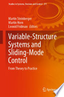 Variable Structure Systems and Sliding Mode Control