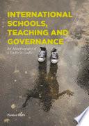 International Schools  Teaching and Governance