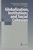 Globalization  Institutions and Social Cohesion