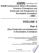 25th Computers and Information in Engineering Conference
