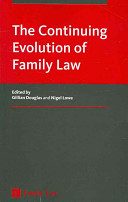 The Continuing Evolution of Family Law Book