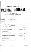 Newcastle Medical Journal