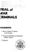 Trial of War Criminals