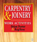 Carpentry and Joinery  Work Activities