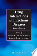 """""""Drug Interactions in Infectious Diseases"""" by Stephen C. Piscitelli, Keith Rodvold"""