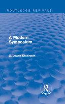 Pdf A Modern Symposium Telecharger