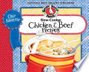 Our Favorite Slow Cooker Chicken   Beef Recipes