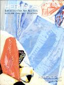 HGAF Fine Art Dallas Auction Catalog #5004