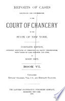 Reports of Cases Adjudged and Determined in the Court of Chancery of the State of New York  Edwards  Chancery  v  1 4  Hoffman s Chancery Book