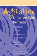 Agitation In Patients With Dementia Book PDF