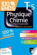 Physique-Chimie Tle S Spécifique et spécialité