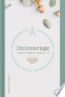 CSB  in courage Devotional Bible Book