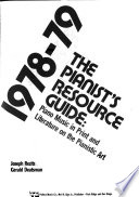 The Pianist's Resource Guide