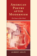 American Poetry after Modernism