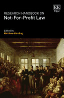 Research Handbook on Not For Profit Law