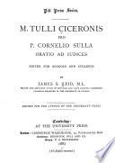 Pro P  Cornelio Sulla