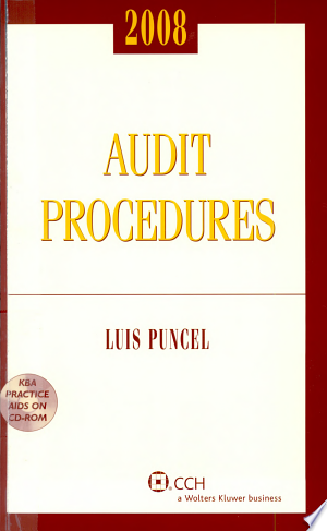 Download Audit Procedures 2008 Free Books - Reading Best Books For Free 2018