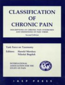 Classification of Chronic Pain