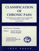 Classification of Chronic Pain