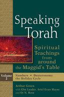Speaking Torah Vol 2 Book